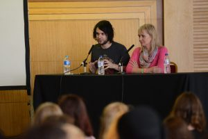Lindsay (right) took part on the Charities Online panel at Summer in the City 2014