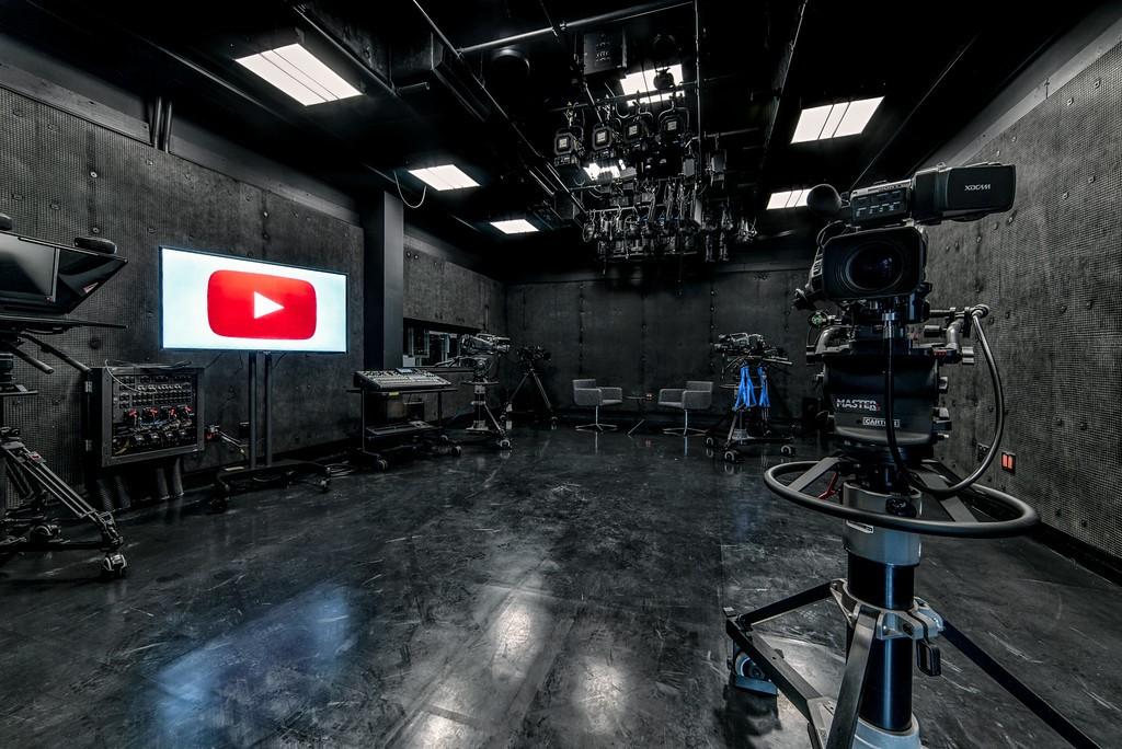 YouTube Space NY Studio