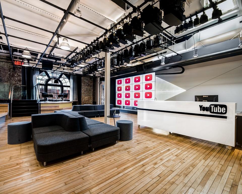 YouTube Space New York Reception-Screening-studioA