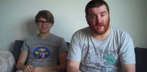 One of Paul's (left) guests during his YouTube Movie Deal series was Charlie McDonnell