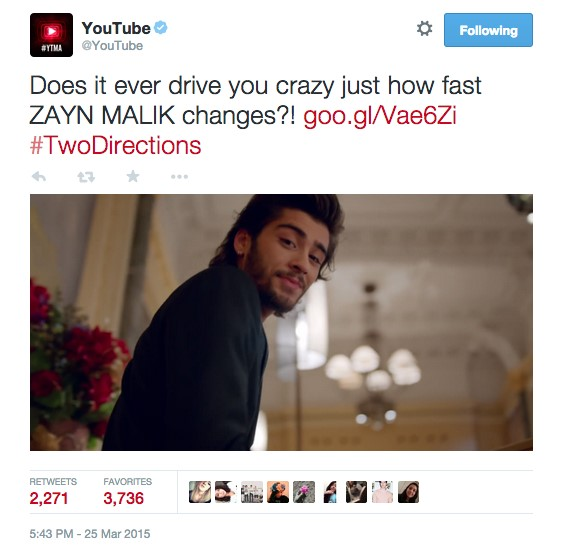 youtube zayn
