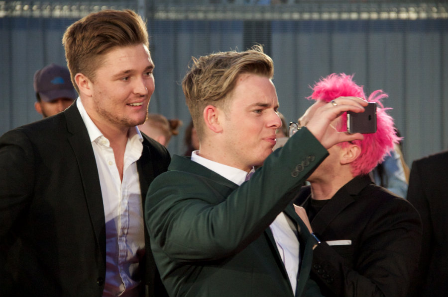 Everyone was vlogging the premiere. Everyone including Michael Pearce and Jack Maynard. Obviously.