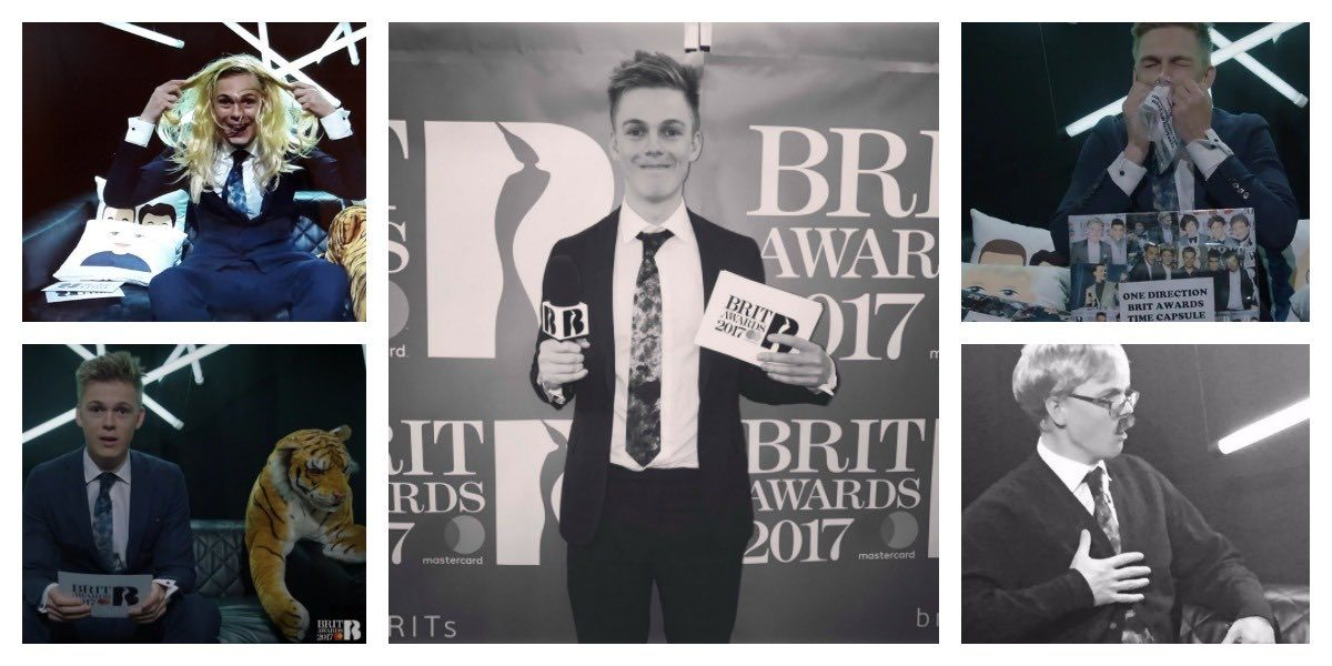 The Best of Caspar Lee's BRITs 2017 Live Stream ...