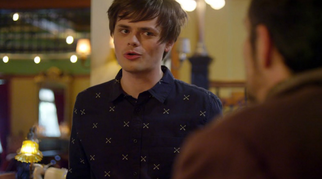 Chris Kendall in OSCAR'S HOTEL