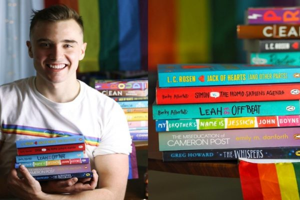 Calum McSwiggan Launches LGBTQ+ Book Club