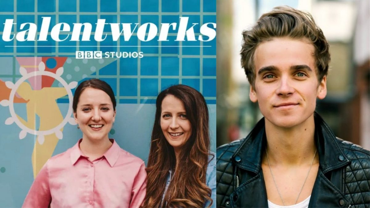 Joe Sugg Hannah Witton Feature in New Talent Works Podcas