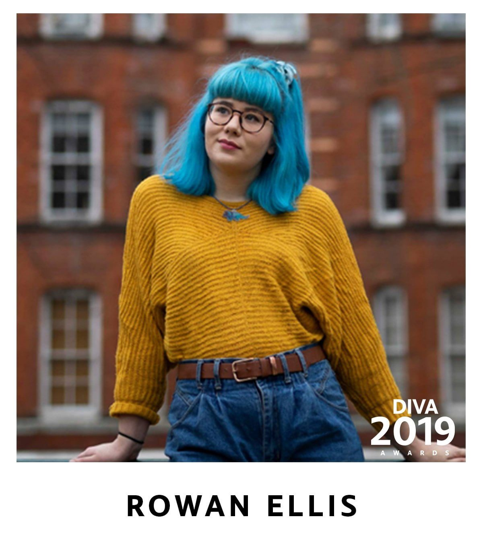 Rowan Ellis Shortlisted for DIVA Awards Rising Star