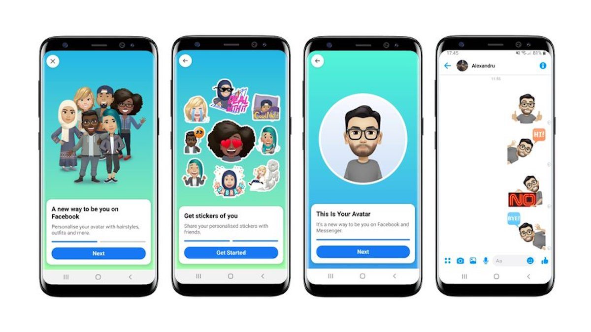 Facebook Expanding Messenger Avatars Across Europe – TenEighty ...
